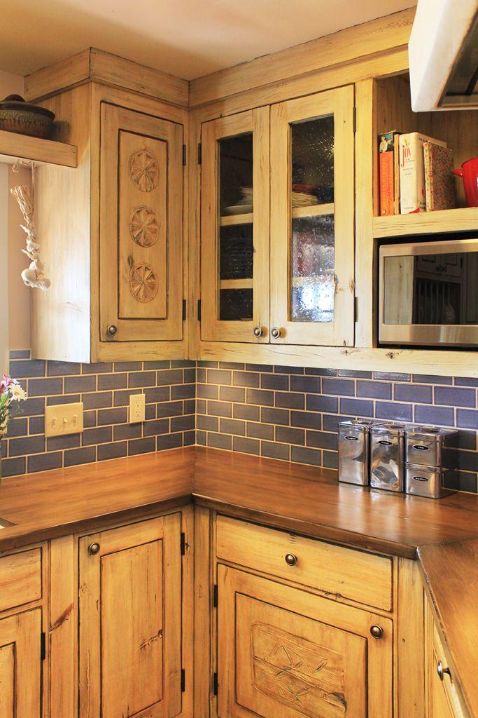 Santa Fe kitchen remodeled cabinets