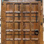 smooth finish slider hardware on barn sliding door