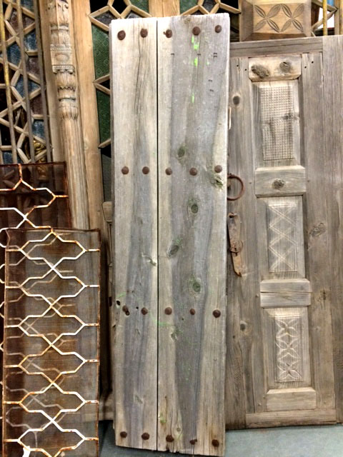 mesquite antique door from Mexico