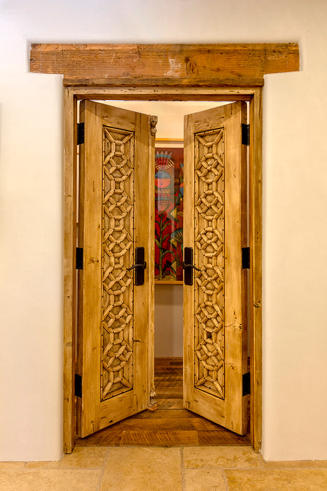 Custom bedroom doors
