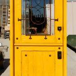 dutch door with grillwork