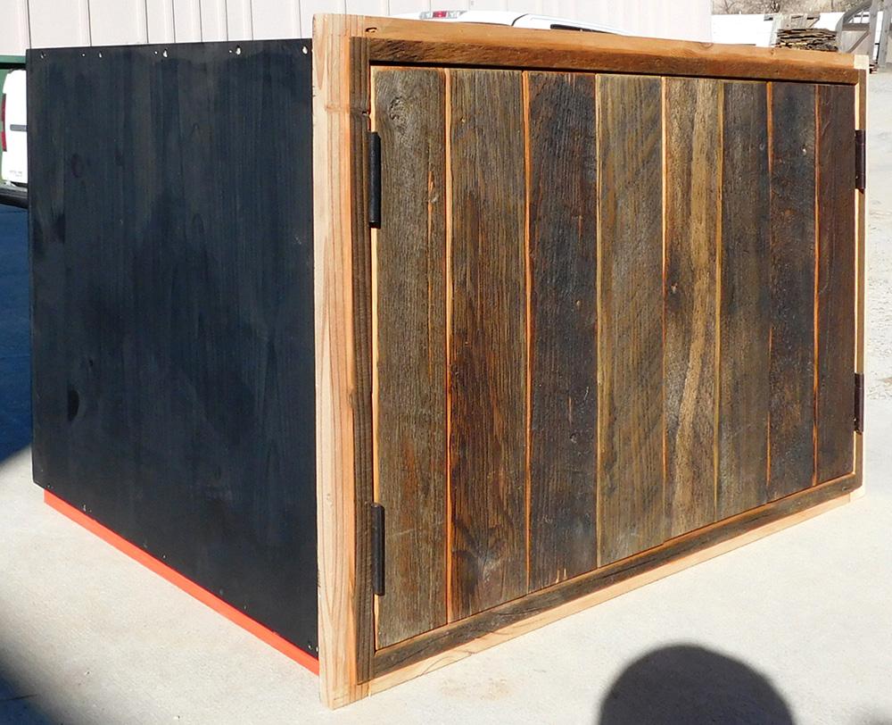 Upper oven wall cabinet for Santa Fe kitchen remodel