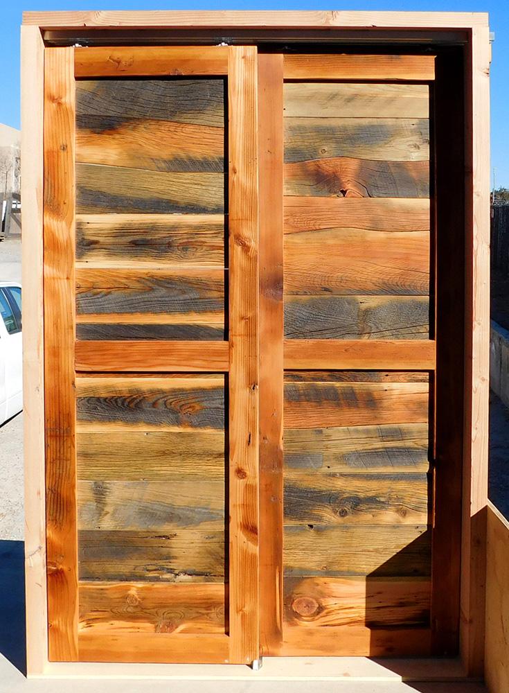 Back of pantry doors