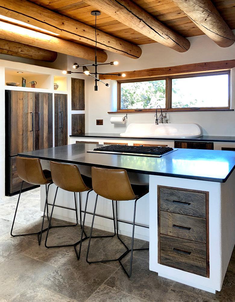 Wabi-sabi kitchen design