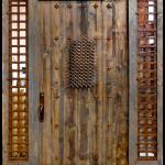 Rustic front door