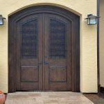 Installation photo of gate with shutters
