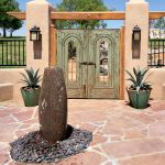 Double custom entry gate