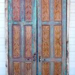 Carved antique doors