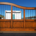 Driveway Gate with Grill