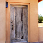 installation rustic front entry