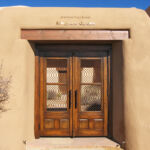 Double gate in surround installed at MIAC in Santa Fe