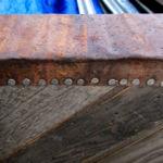 Chevron Pattern Gate Tin Detail