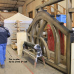 Transom in the finish shop
